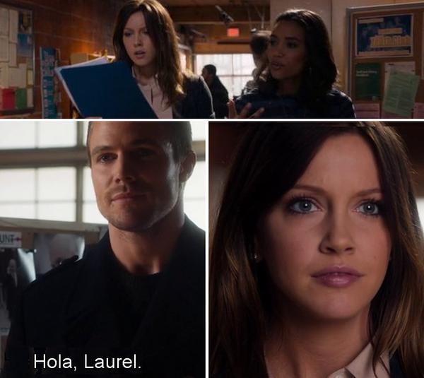 Arrow - Hola, Laurel