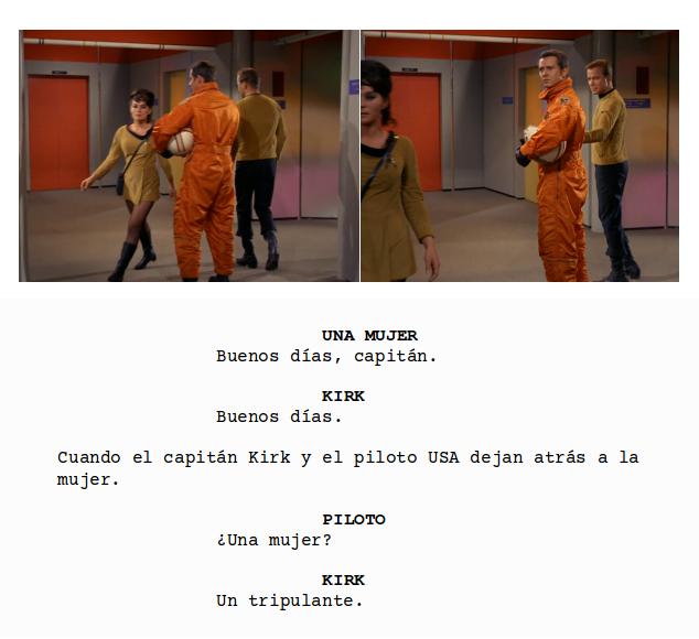 Star Trek - Una tripulante
