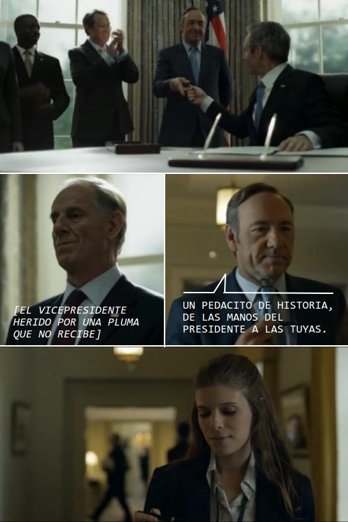 De las manos del presidente a la amante del congresista
